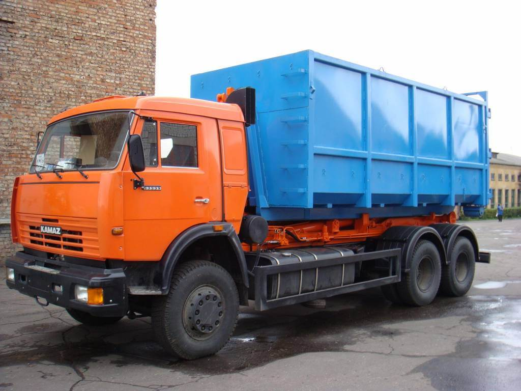 Круглосуточный вывоз металлолома грузовой спецтехникой